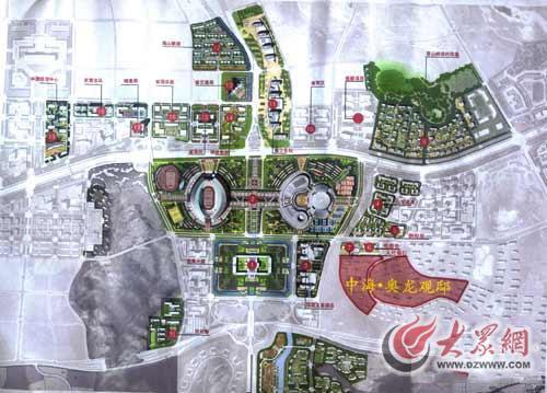 中海奥龙观邸区位图